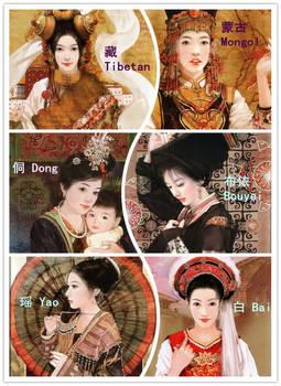 56 Ethnic groups of China (3)