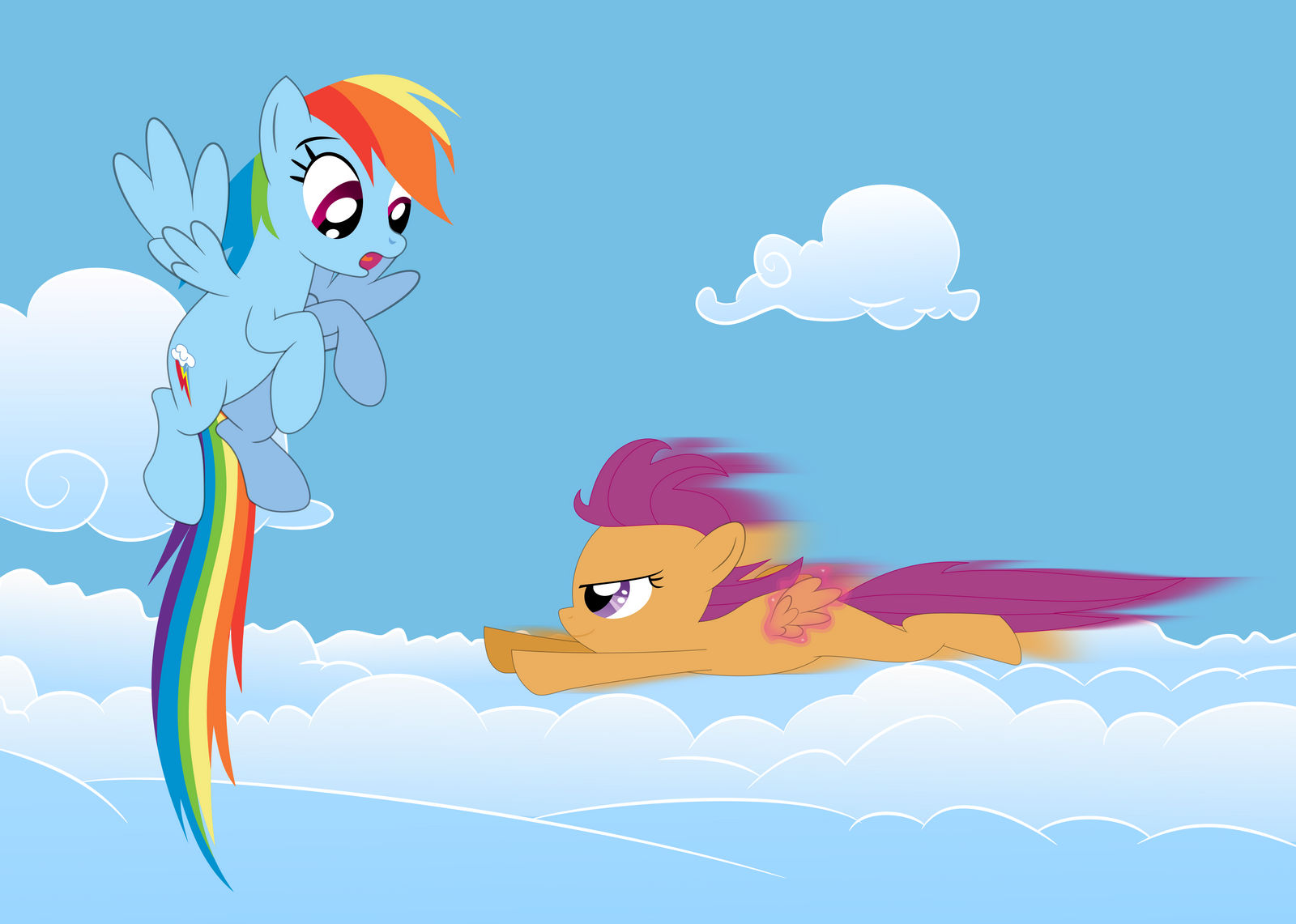 Scootaloo S New Way To Fly By Tgolyi On Deviantart I see, i guess my life is not so bad. fly by tgolyi on deviantart