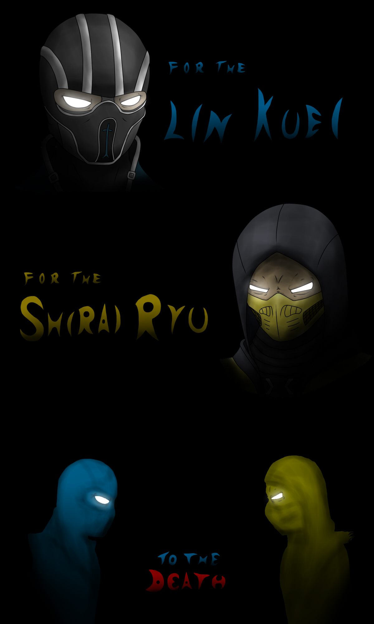 Scorpion vs Sub-Zero by NekuZ