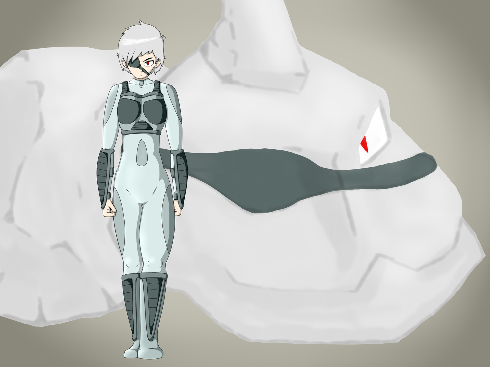 Solid Snake the Onix + Gijinka by NekuZ
