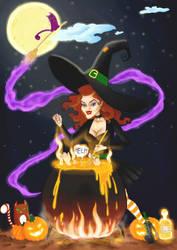 Witchy Lady by theZakon