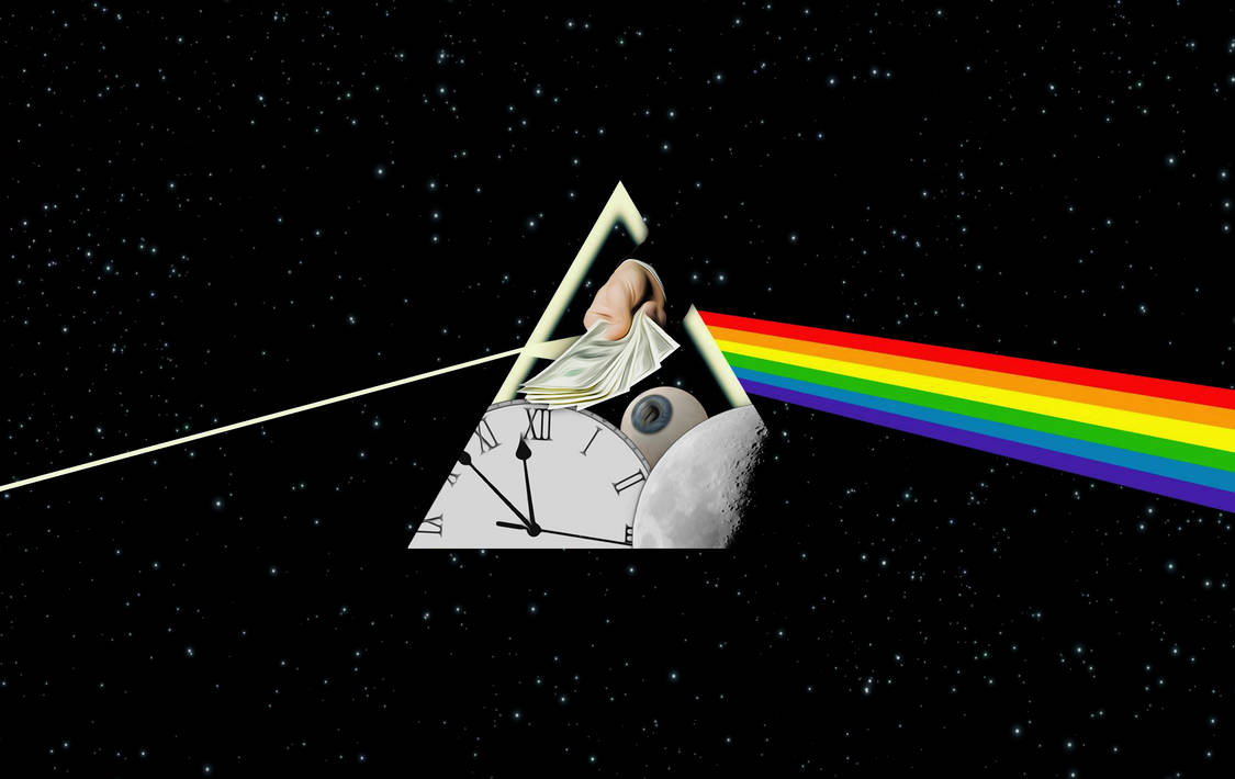 Dark Side Of The Moon Wallpaper 2 By Spacepoolnoodle On Deviantart