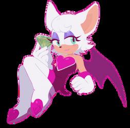 Rouge Bat by Katsuo-Ne