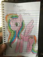 Princess Glitter Sparkle by melodeycooper