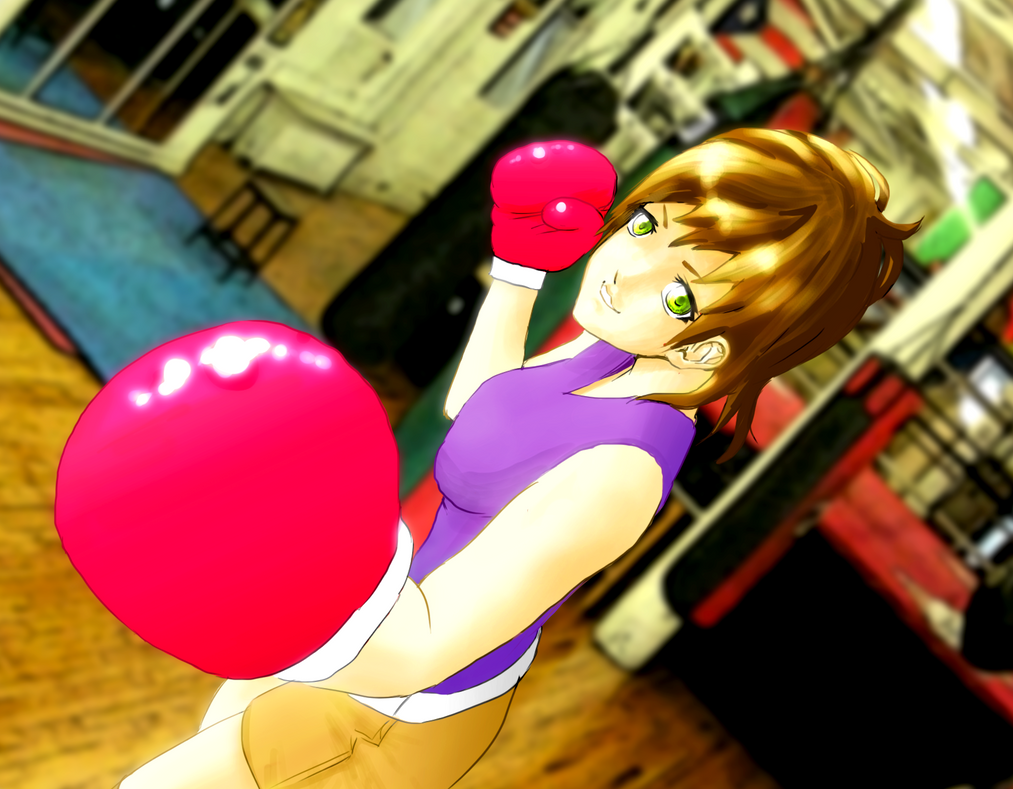 Boxing Girl by MangaAuthor