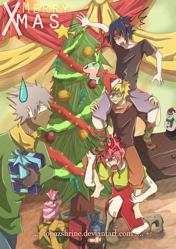 Team 7 - The Natural Christmas Ladder by TopazShrine on DeviantArt