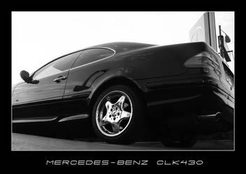 Mercedes-Benz CLK430 by d4n