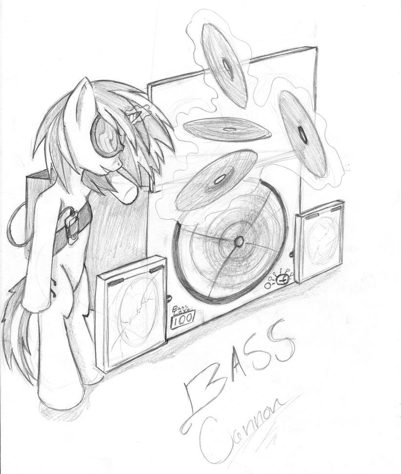 Bass Cannon by fillyfeill