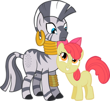 Zecora is Unamused by Flufee-Foxx