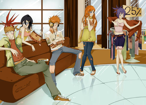 BLEACH :: Hanging out ::