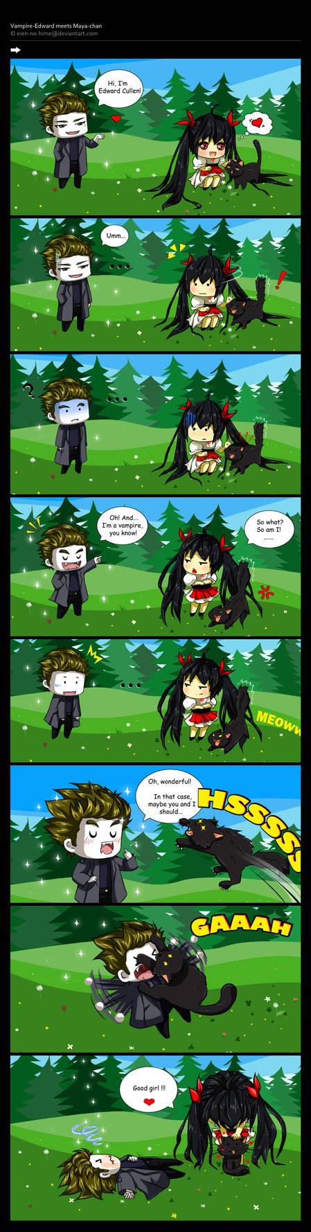 Vampire: Edward meets Maya