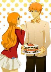 IchiHime: Cake