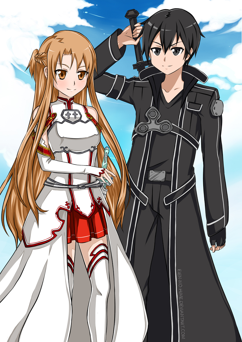 Sword Art Online by Eien-no-hime