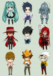 2012 Chibi Collection