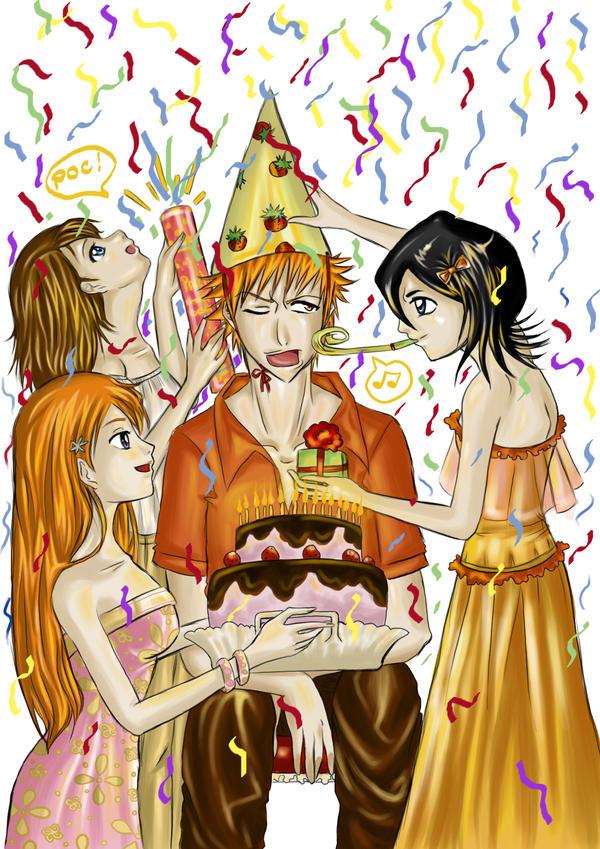 Ichigos Birthday Party By