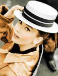 Audrey Hepburn 11 by farahkhan
