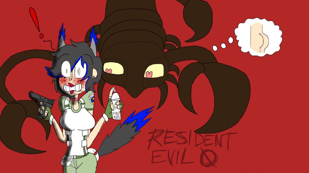 BIGASS SCORPION ATTACK - for Resident Evil Zero by zekeNskullers