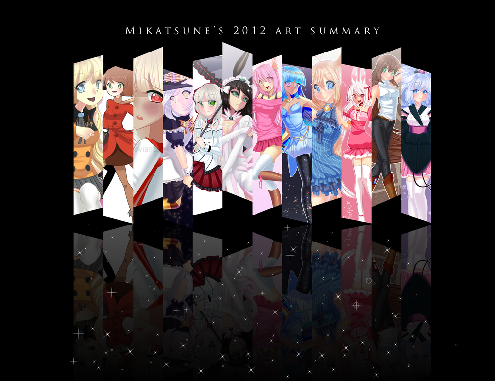 2012 Art Summary by Mikabunni