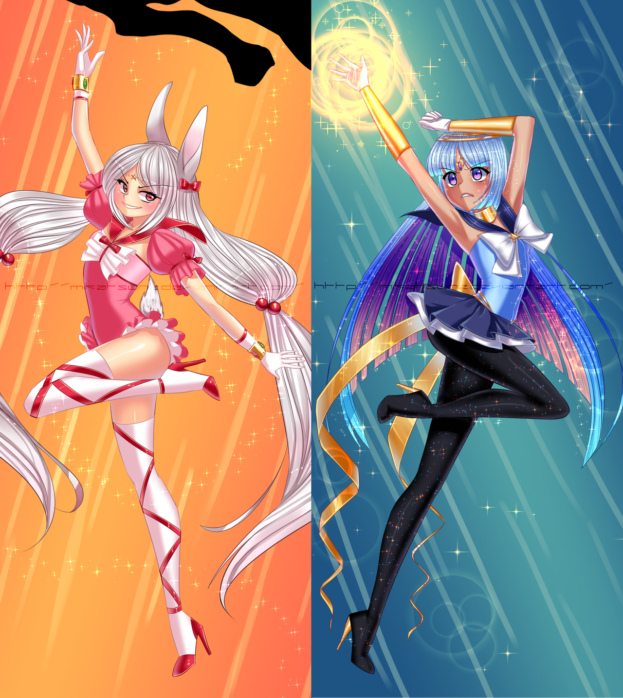 Sailor OCs by Mikabunni