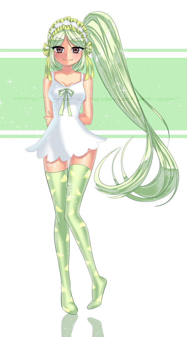 Key Lime Pie by Mikabunni