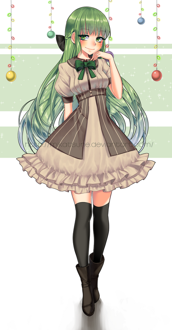 Secret Santa 2014: Yukikachan by Mikabunni