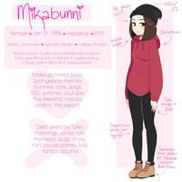 Meet The Artist - Mikabunni by Mikabunni