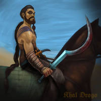 Khal Drogo Fan Art