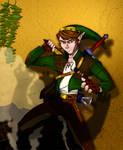 Link The Treasure Hunter