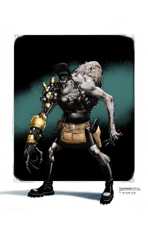 GM3000: Hephaestus by Deepcutman