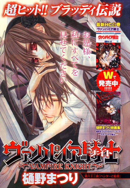 Vampire knight art book by Robotic-Strawberry