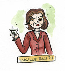 Villain 19 - Lucille Bluth by TRAVALE
