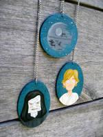 Ackbar Clock Pendants by TRAVALE