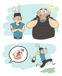 Tf2 Easter by TRAVALE