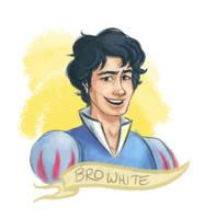 Bro White by TRAVALE