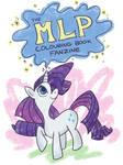 The MLP Colouring book fanzine