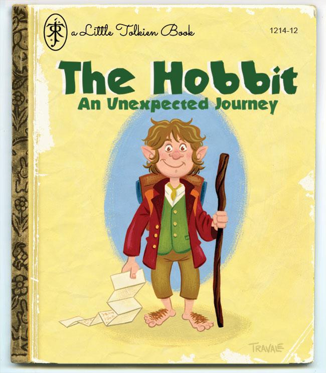 A Little Tokien Book by TRAVALE