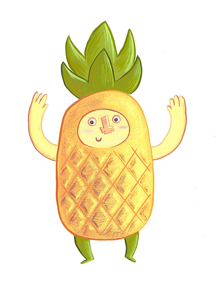 Pineapple power by TRAVALE