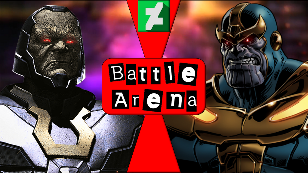 BATTLE ARENA! - Darkseid VS Thanos - Fight by SpyKrueger on DeviantArt