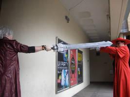 Dante vs Alucard