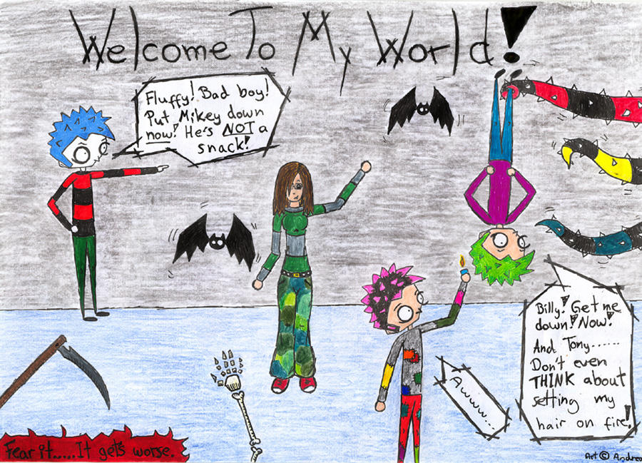 Welcome To My World by dark-elf-girl