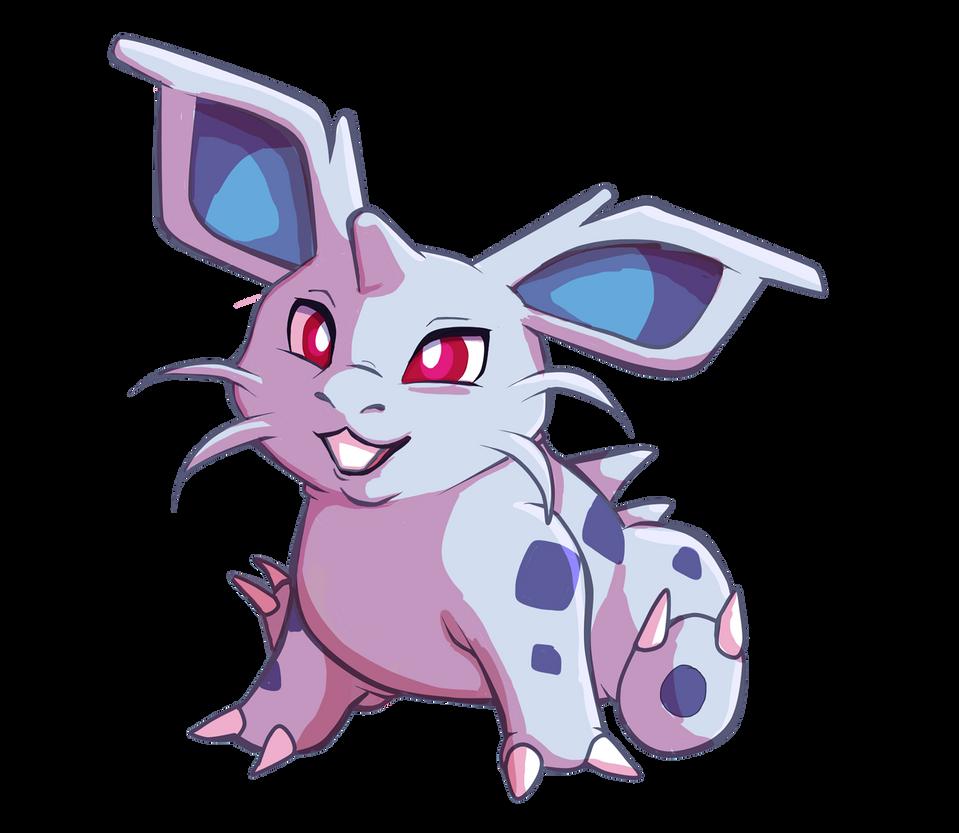 Pokemon Collab: Nidoran Female by calistamonkey on DeviantArt