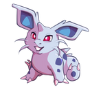 Pokemon Collab: Nidoran Female by calistamonkey