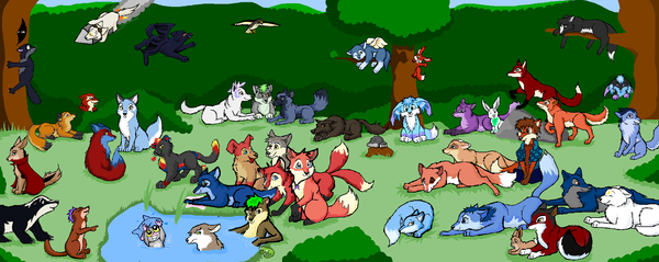 -Farthing Wood Group Pic- by calistamonkey