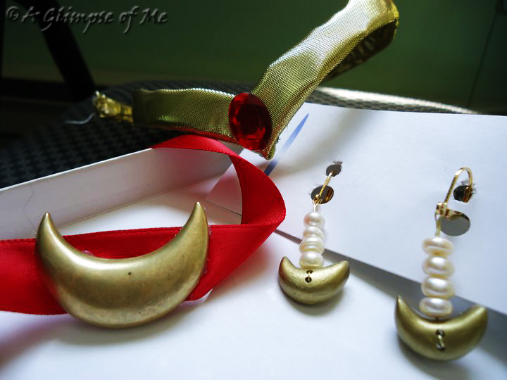 Sailor Moon Jewelry by AGlimpseOfMe