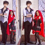RWBY Uncle Qrow and Ruby Cosplay