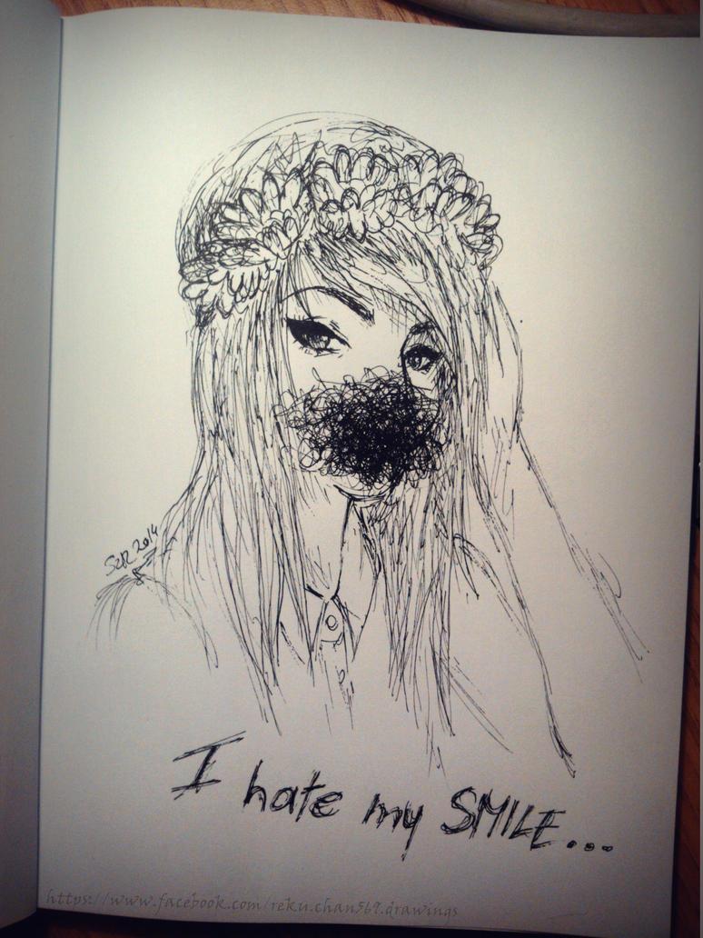 hate my smile by Reku-chan569