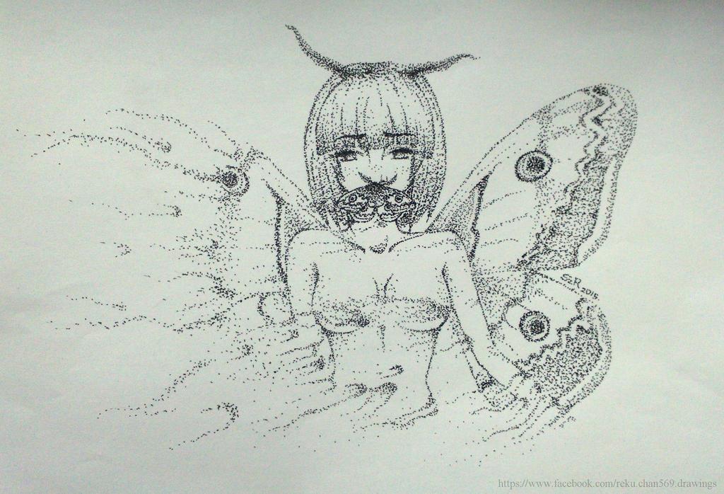 Saturnia Pyri by Reku-chan569