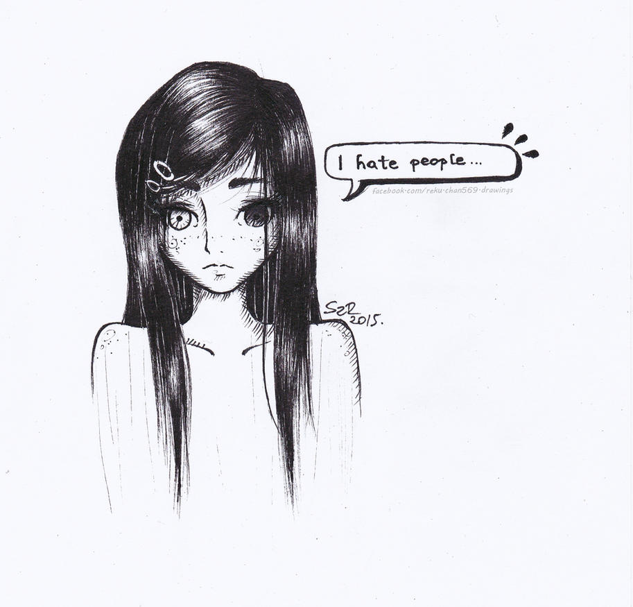 I hate people by Reku-chan569