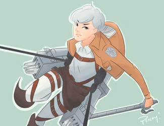 Attack on Titan: Zelo by PenceyPreppyPants