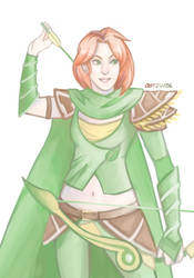 Windrunner by PenceyPreppyPants